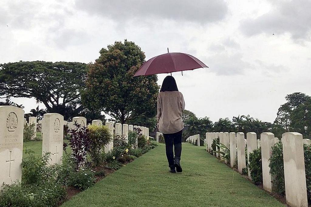 BeritaHarian.sg jejak tapak peristiwa Perang Dunia Kedua