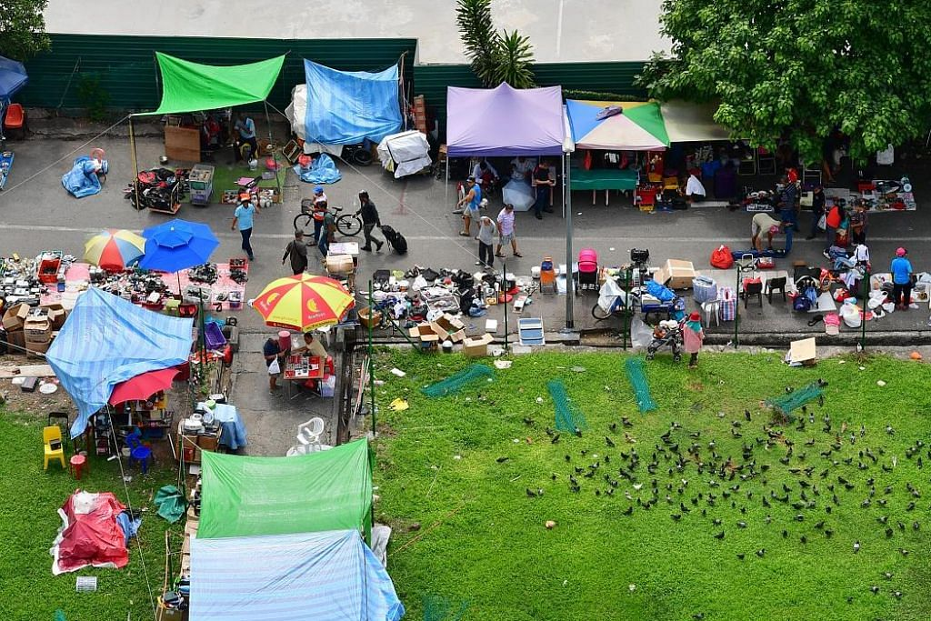 Zon jaja Sungei Road ditutup 10 Julai