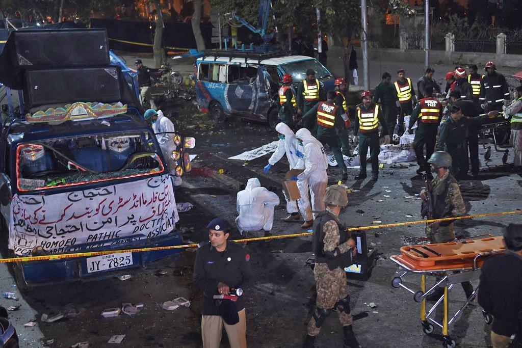15 maut dalam serangan Taleban di Lahore