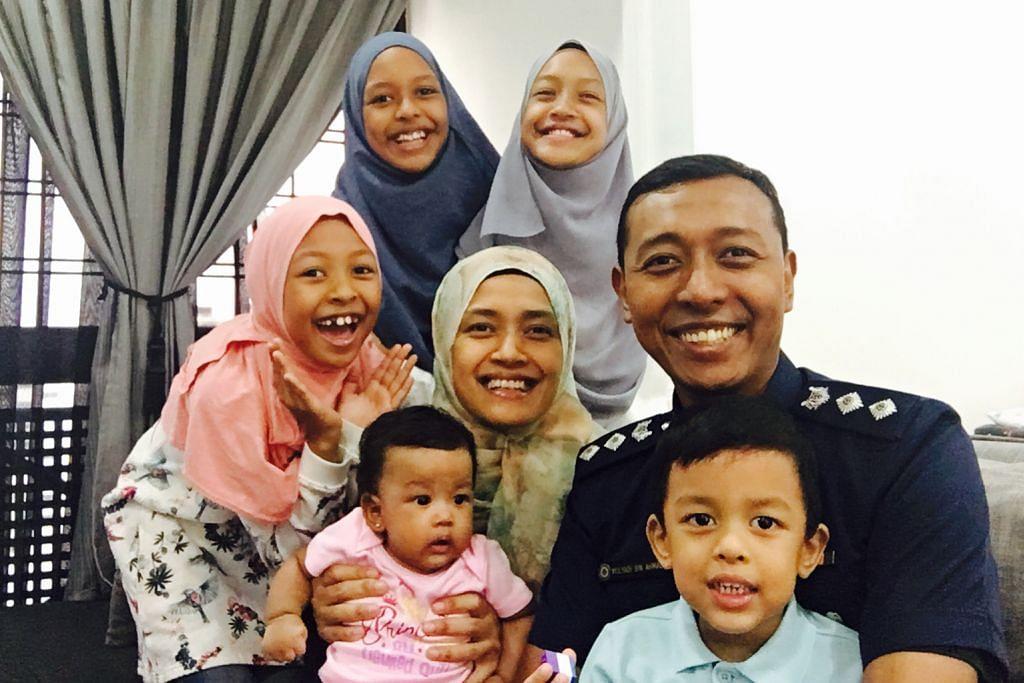 PERTAHANAN TENTERA Keluarga sokong bapa galas tugas Komander NS Polis