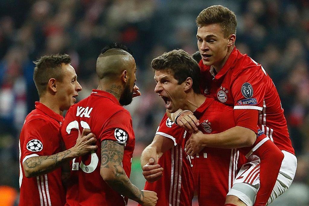 Wenger akur 'keruntuhan' mental anak buah punca kalah besar di tangan Bayern LIGA JUARA-JUARA