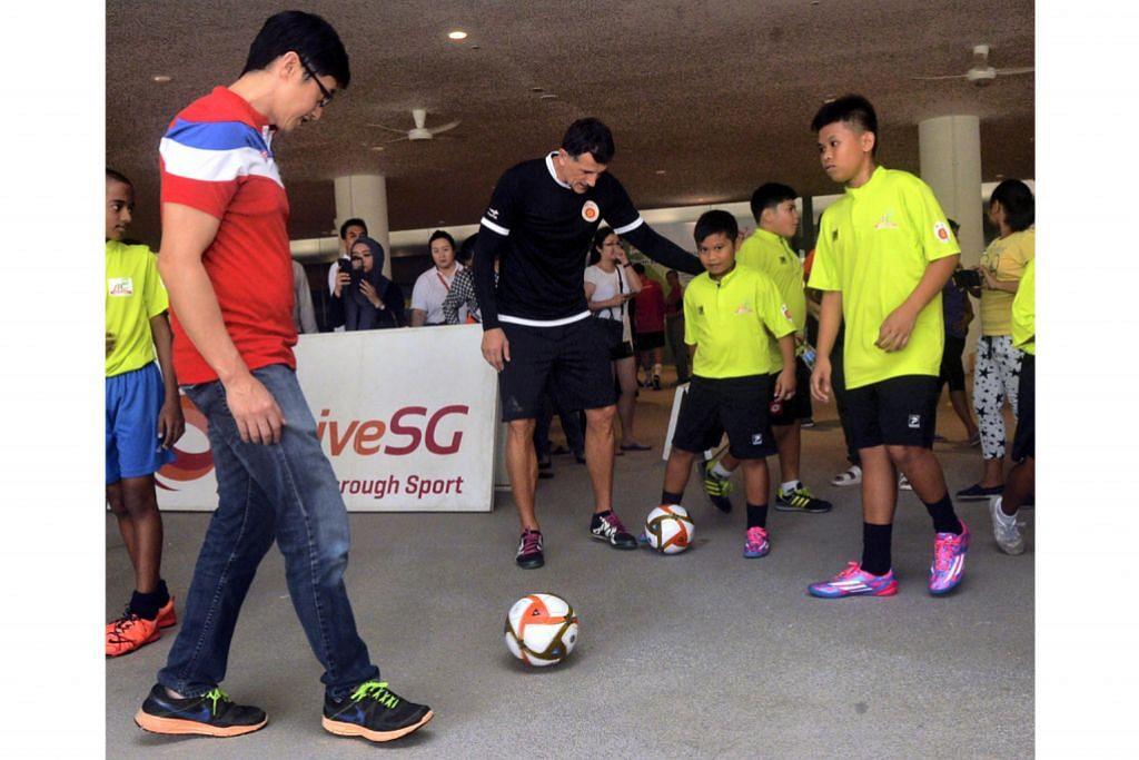 Projek CDC North East untuk 100 murid belajar bola, tingkat pendidikan