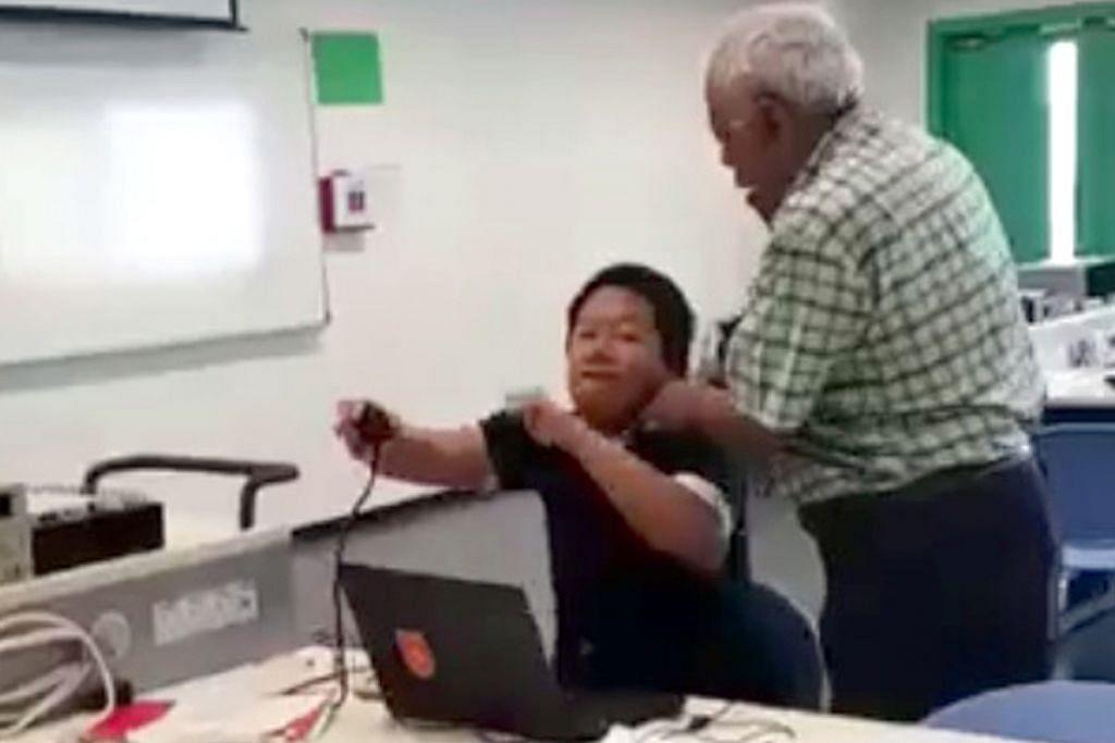 Guru ITE yang kasari pelajar sudah jalani kaunseling