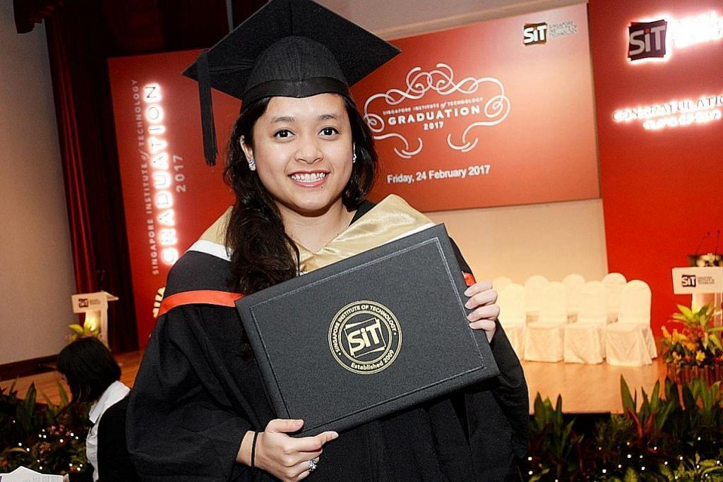 Dapat kerja dengan firma antarabangsa sebelum tamat pengajian