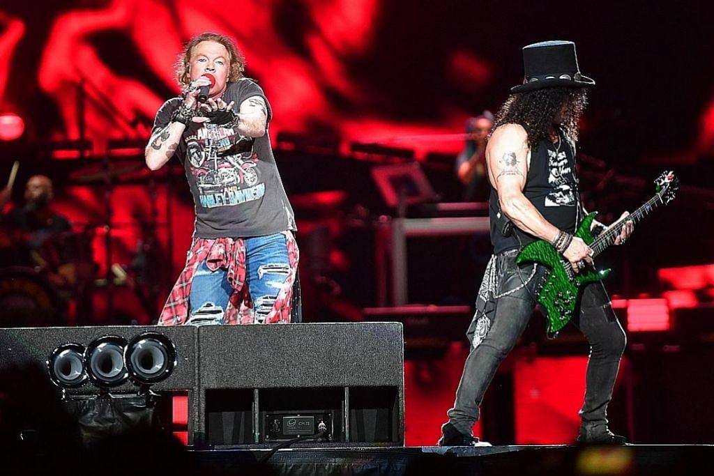 Guns N' Roses ubati rindu peminat REVIU KONSERT