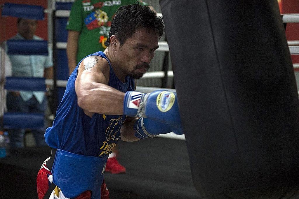 TINJU Pacquiao sah menentang Amir Khan 23 April