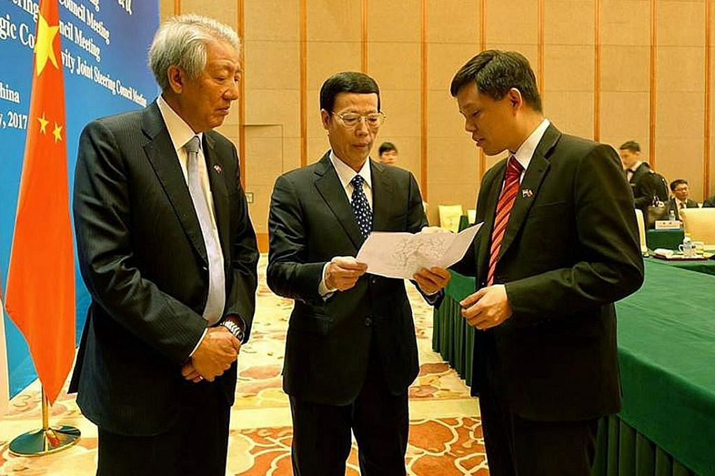 HUBUNGAN SINGAPURA-CHINA DPM Teo: S'pura bangun pertalian generasi mendatang dengan China