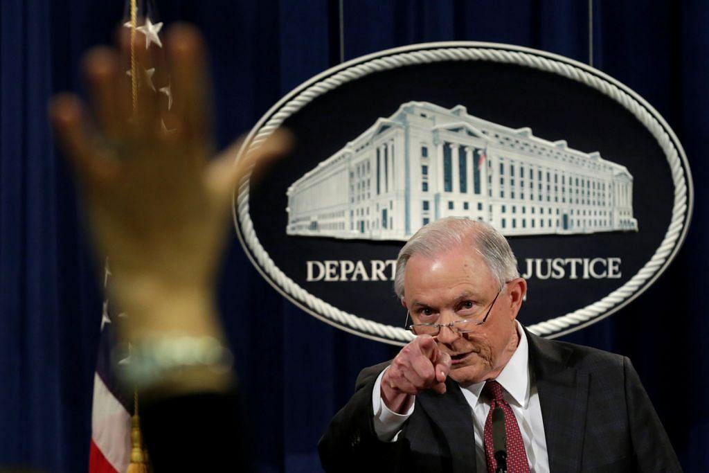 Peguam Negara AS enggan sertai siasatan