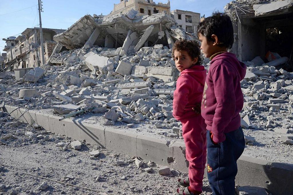 Kanak-kanak Syria tunjuk simptom 'tekanan toksik'