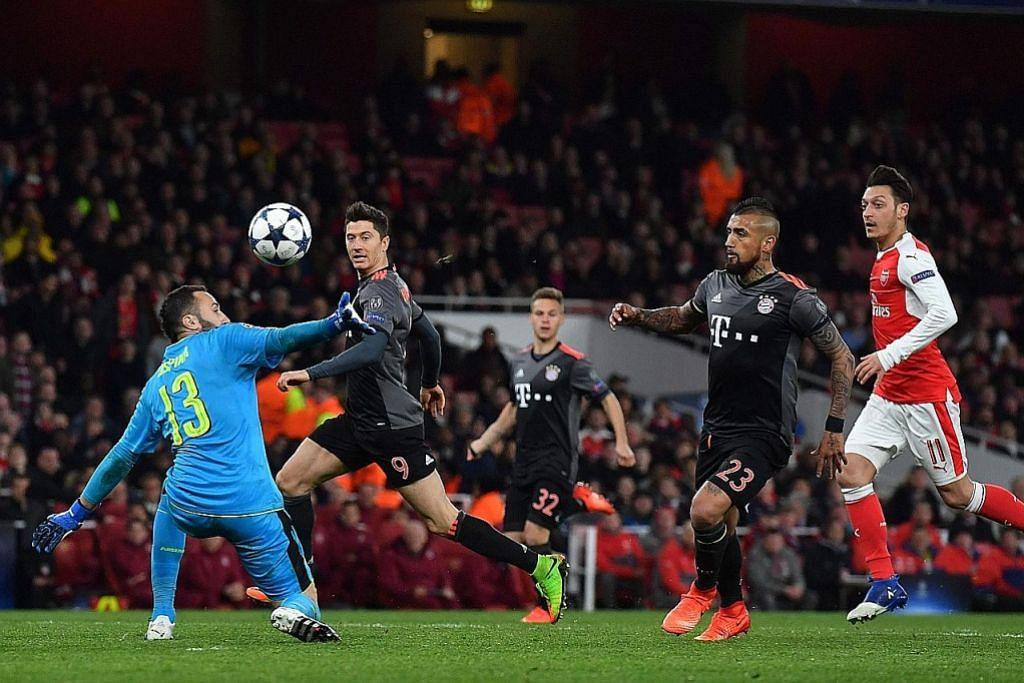 LIGA JUARA-JUARA Arsenal dimalukan, kian lantang desakan Wenger undur