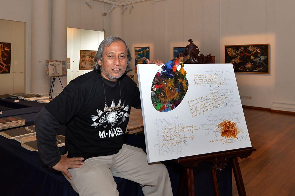 Dendang rakyat M. Nasir cetus ilham seniman batik SUATU MASA...