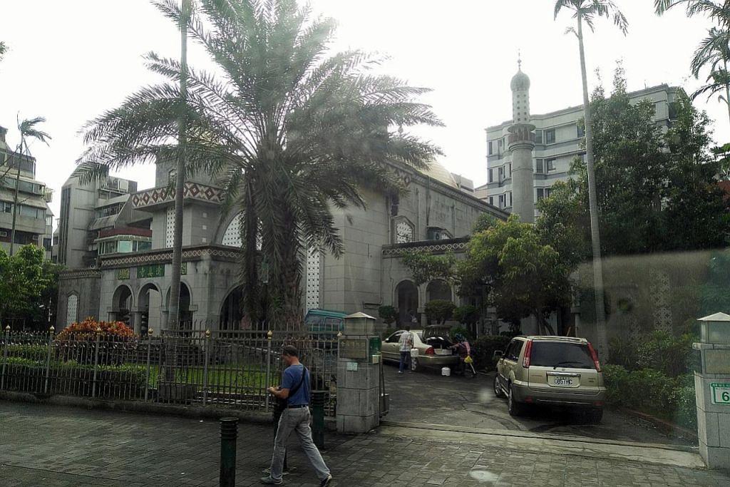 Masjid tersergam di Taipei