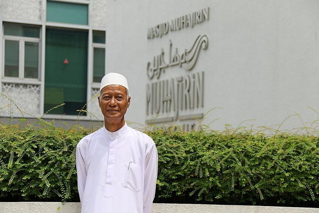 Masjid tertambat di hatinya