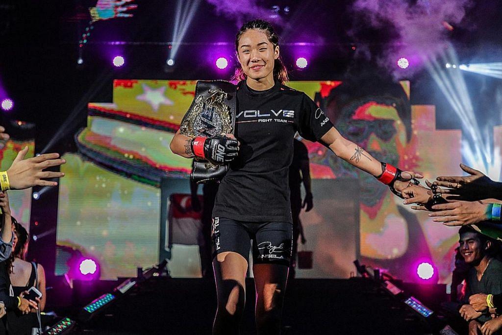 MMA Angela Lee kekal kejuaraan