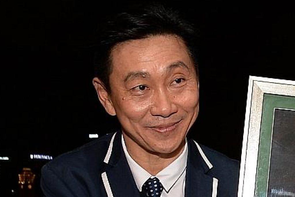 Pengerusi Hougang United sahkan keputusan bersaing bagi jawatan presiden MENJELANG PEMILIHAN FAS