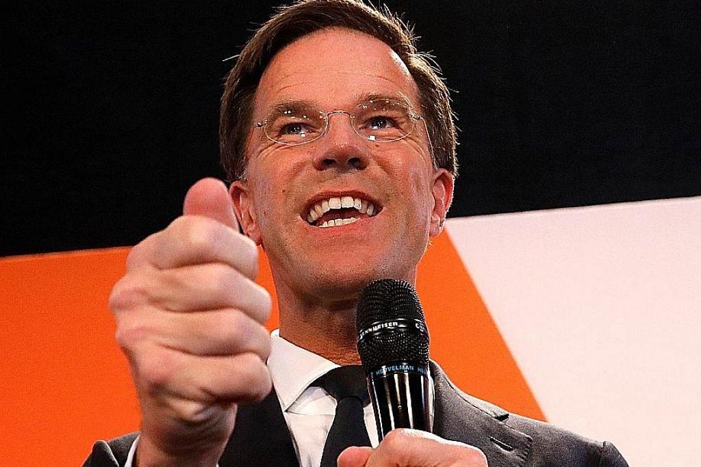 Kemenangan PM Belanda beri kelegaan kepada Eropah