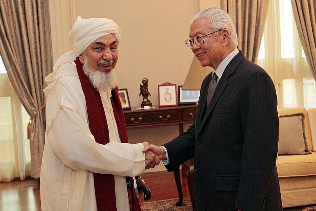 Tokoh agama UAE temui pemimpin Singapura