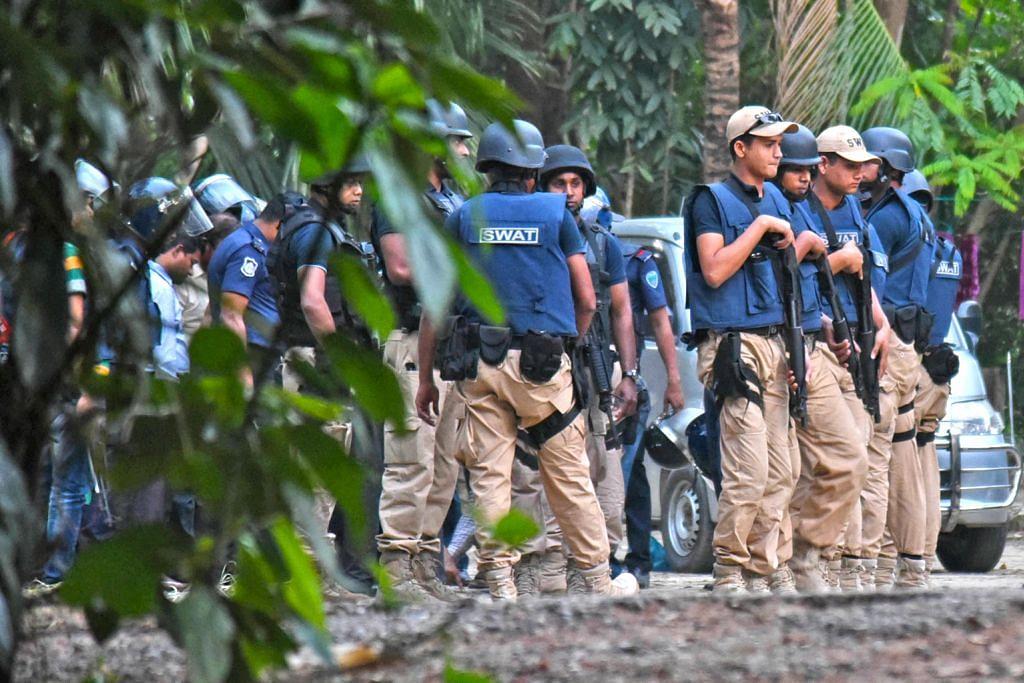 Dua militan maut dalam serangan di Bangladesh
