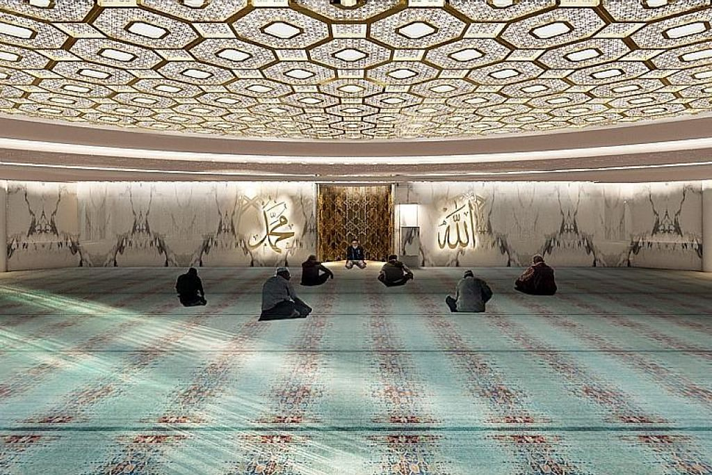 Menang anugerah bagi reka dalaman masjid di Maldives