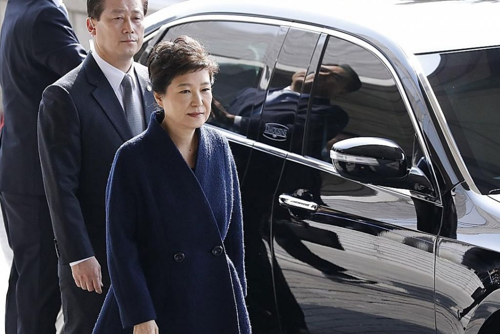 Rasuah: Mantan Presiden Korea minta maaf