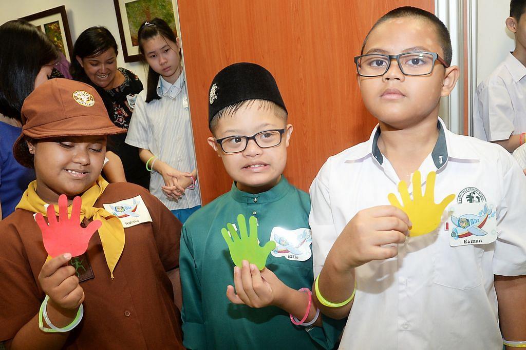 HARI SINDROM DOWN SEDUNIA Dua sekolah buka 'Pagar Persahabatan'