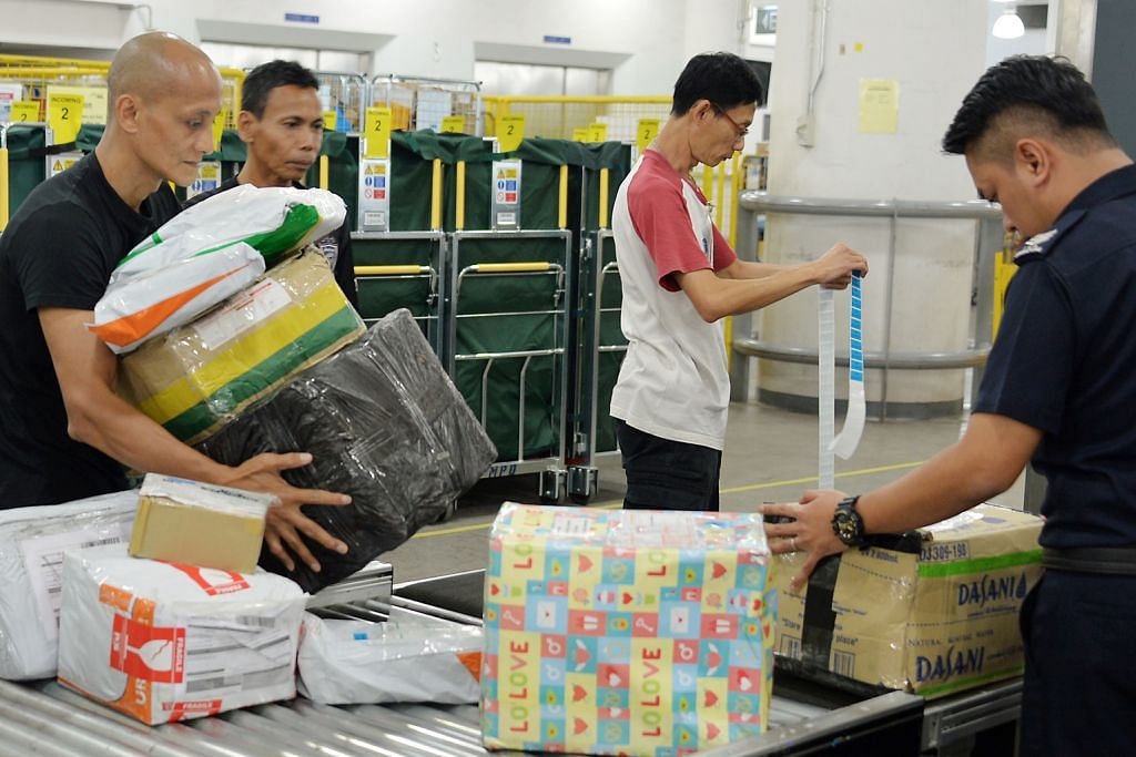Jumlah barang pos luar negara yang diperiksa ICA terus meningkat