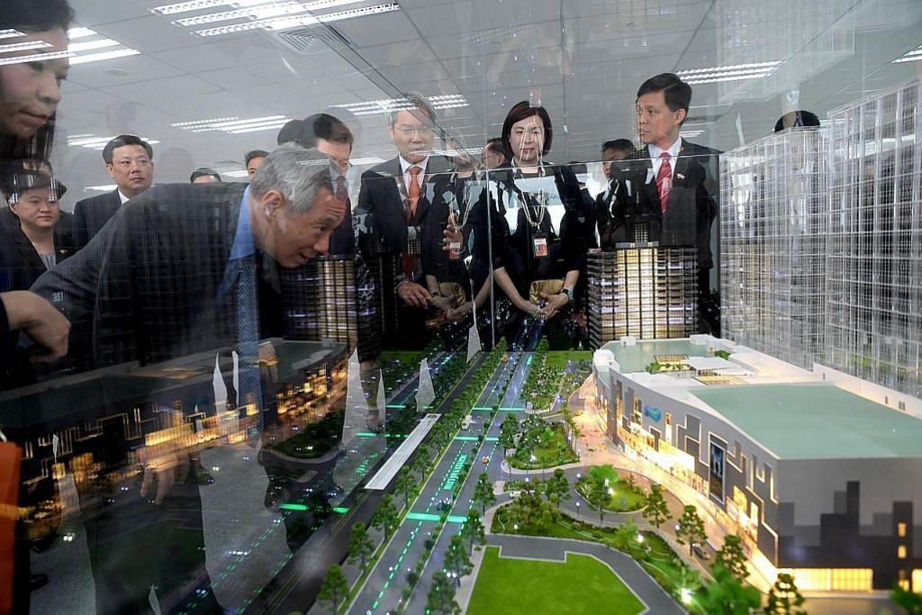 PM Lee rasmikan Pusat Perniagaan Mapletree LAWATAN PM LEE KE VIETNAM