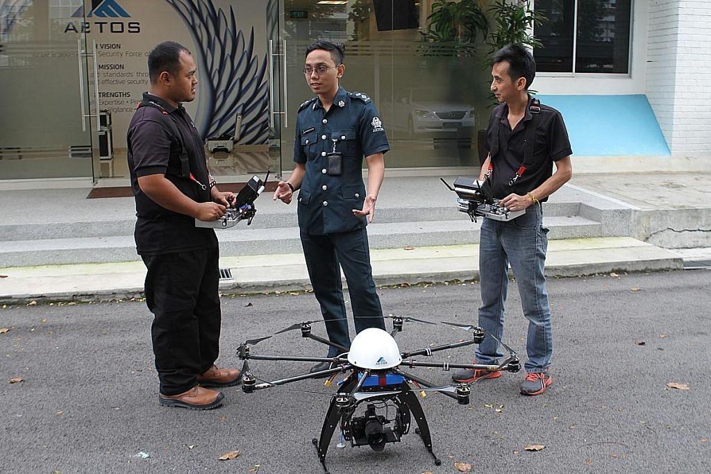 Penggunaan dron semakin meluas