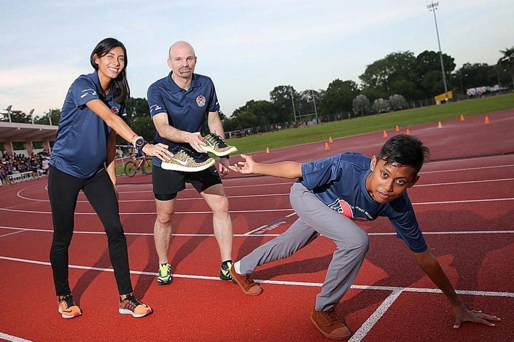 Lim-Prasad tubuh gerakan kitar semula kasut sukan