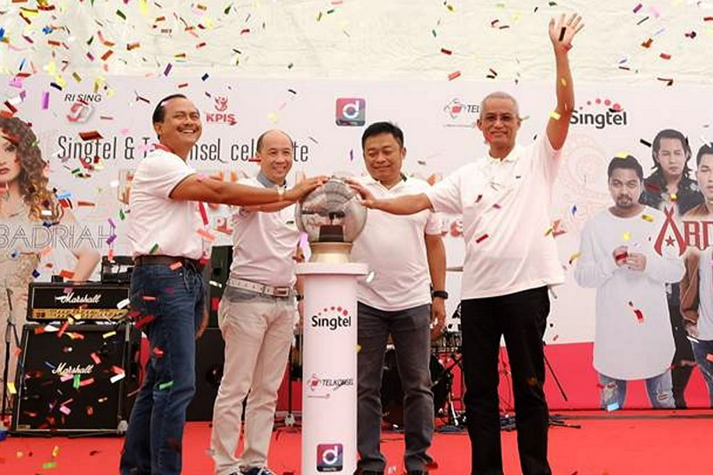 Singtel, Telkomsel permudah proses pindah wang SG-Indonesia