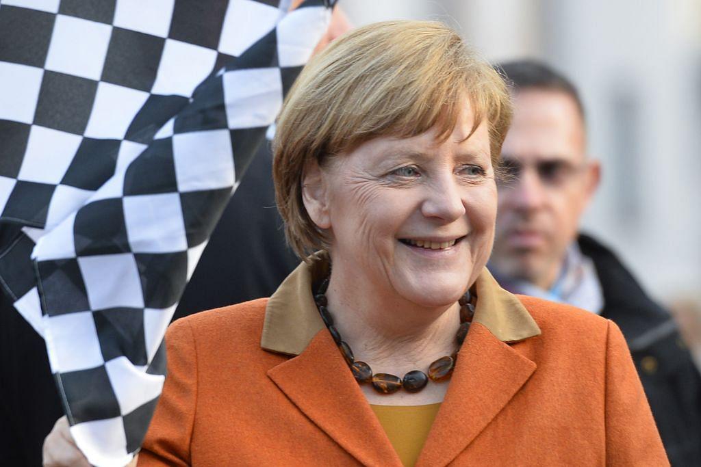 Parti pimpinan Merkel menang besar pilihan raya negeri