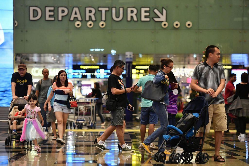 Lapangan Terbang Changi kendali 4.67 juta penumpang bulan lalu