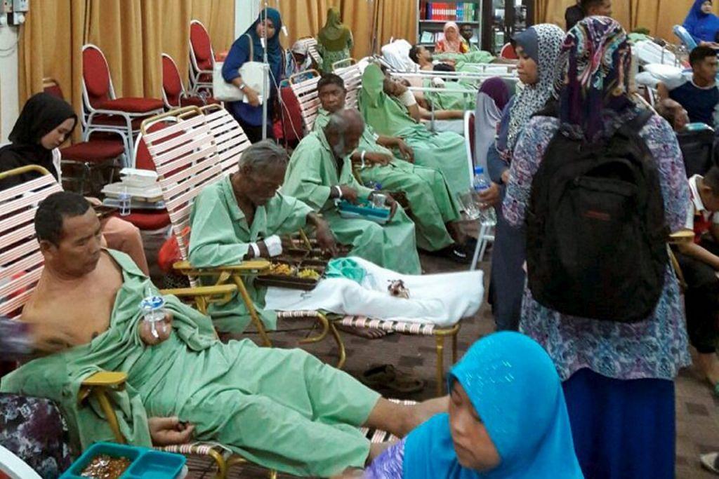 Cemas di Hospital Segamat dek bilik linen terbakar