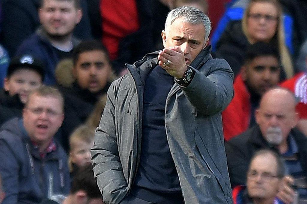 Mourinho: Perlawanan persahabatan tak masuk akal BOLA SEPAK ENGLAND