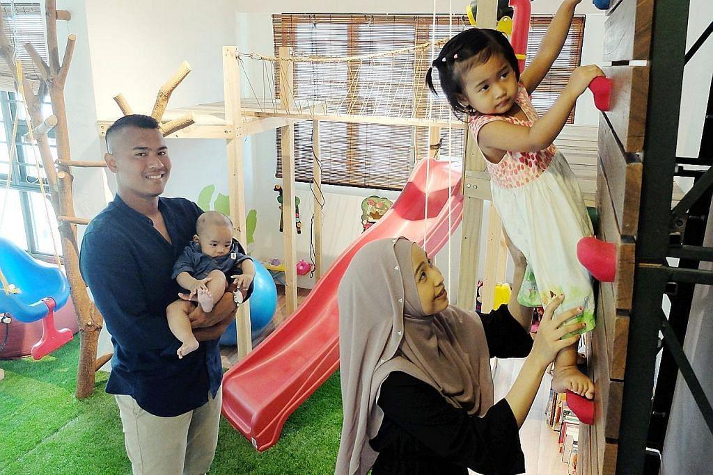 Bina taman permainan demi rangsang pembangunan anak