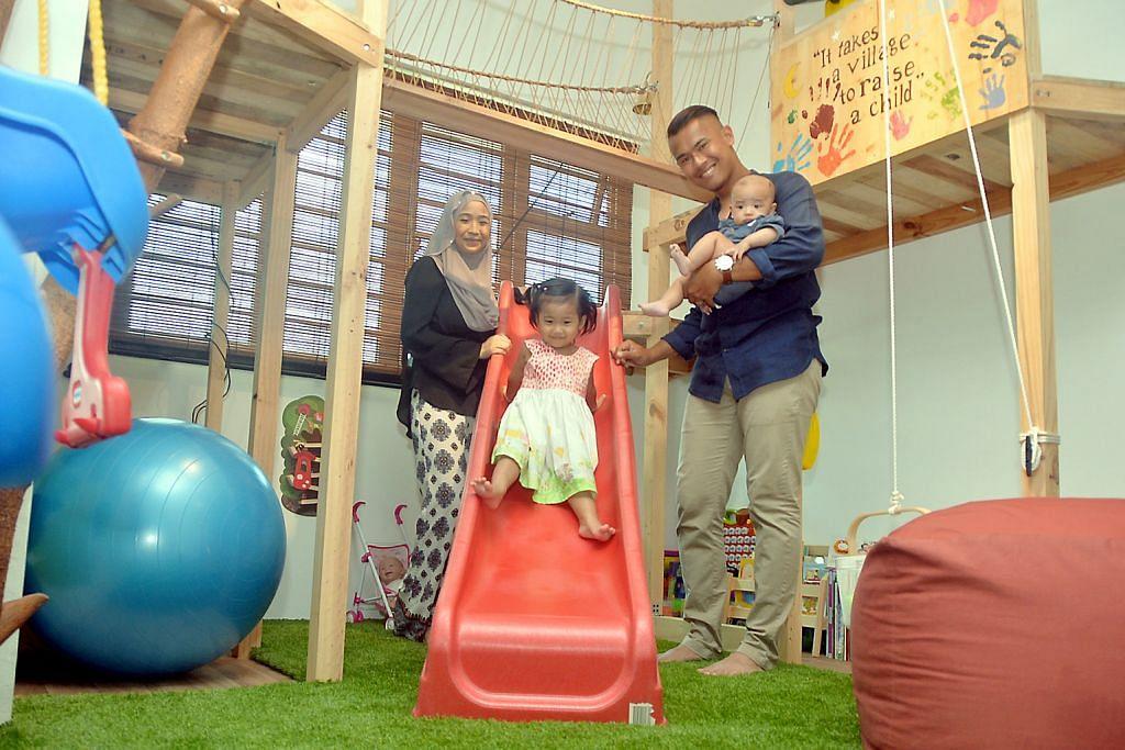 Taman kanak-kanak dalam rumah