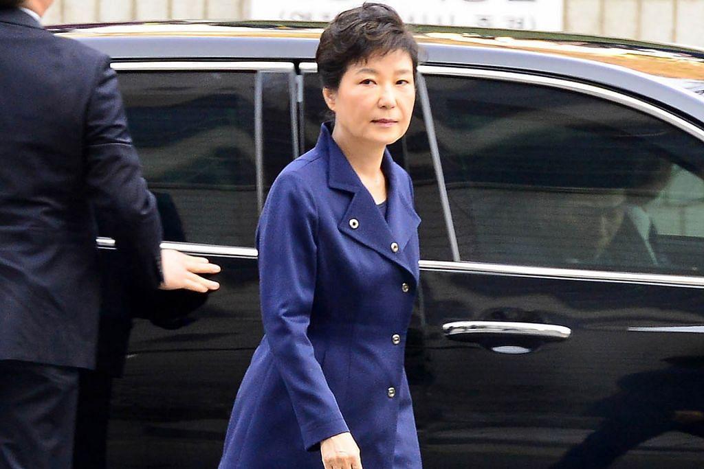 Mahkamah Seoul timbang waran tangkap Park