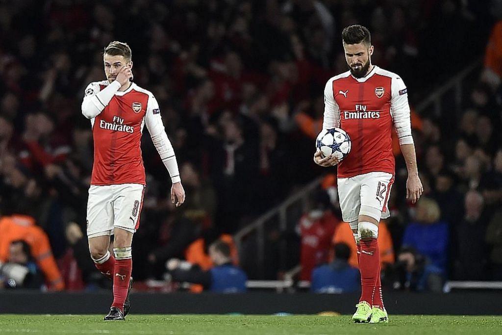 Arsenal, City terdesak semarak semula saingan LIGA PERDANA ENGLAND