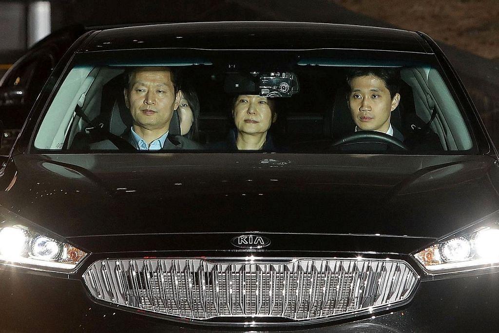 KES RASUAH BEKAS PRESIDEN KOREA SELATAN Park masuk penjara, bakal hadapi 13 tuduhan jenayah
