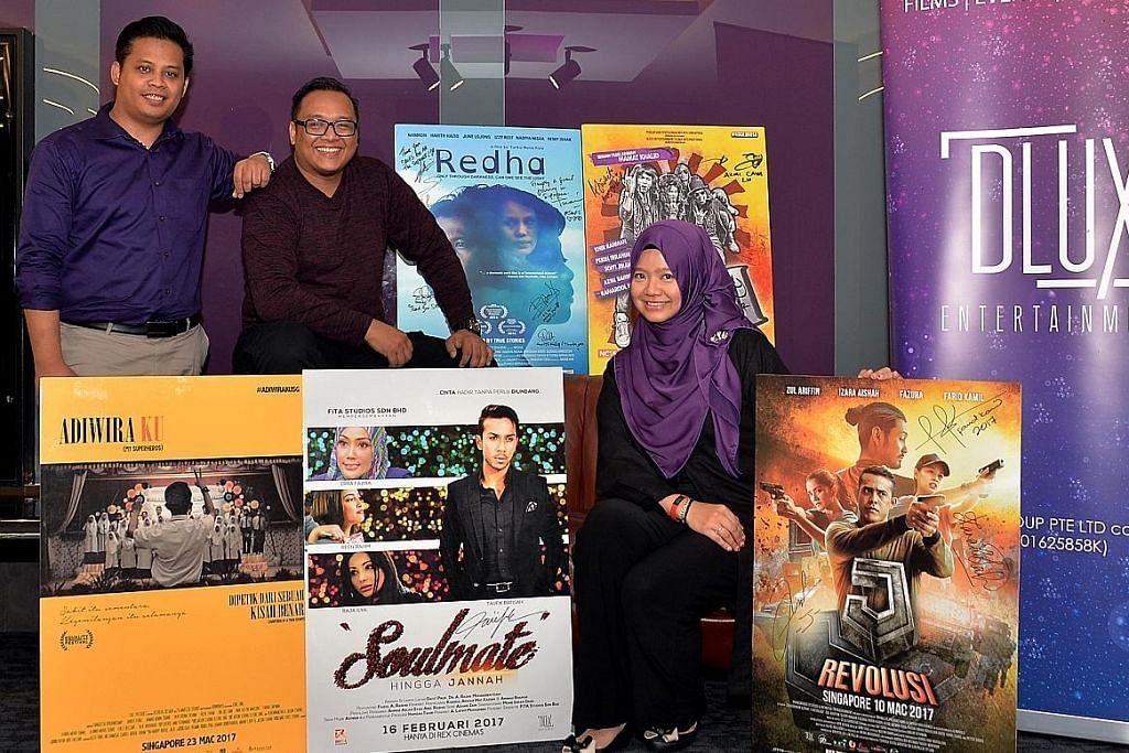 Misi 3 beradik mencorak budaya tonton filem Melayu