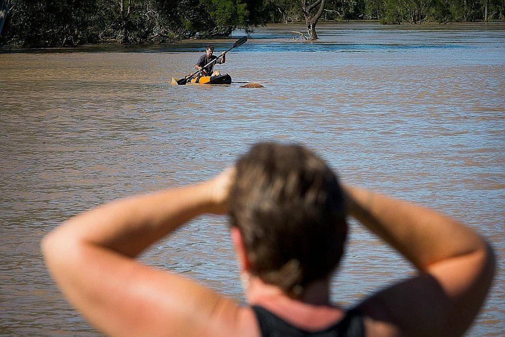 2 maut, 4 hilang dalam banjir di Australia