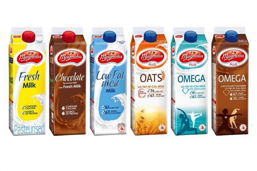 Produk susu jadi pendorong pemakanan sihat