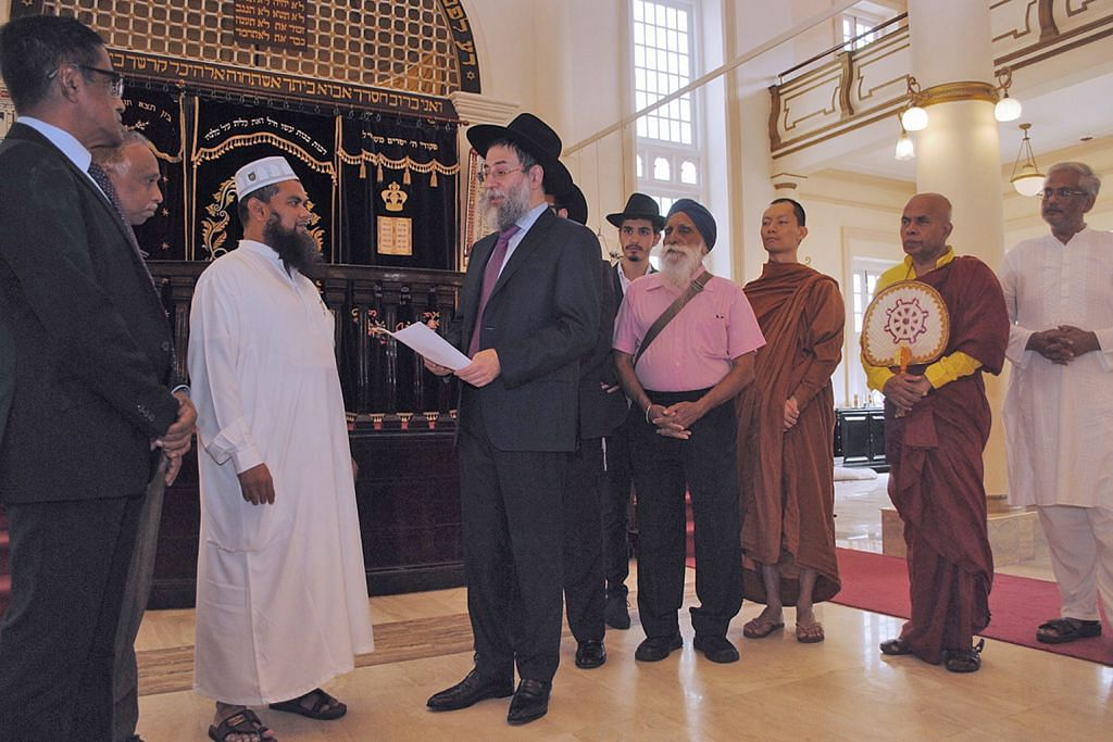 Rabbi terima kunjungan dan permohonan maaf imam KES IMAM SINGGUNG PERASAAN PENGANUT AGAMA LAIN
