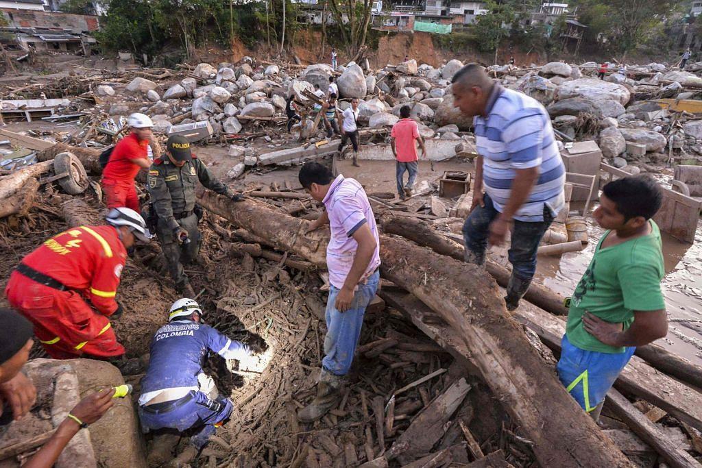 ... lebih 250 di Colombia
