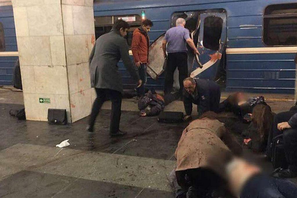 10 maut dalam letupan di stesen kereta api Russia