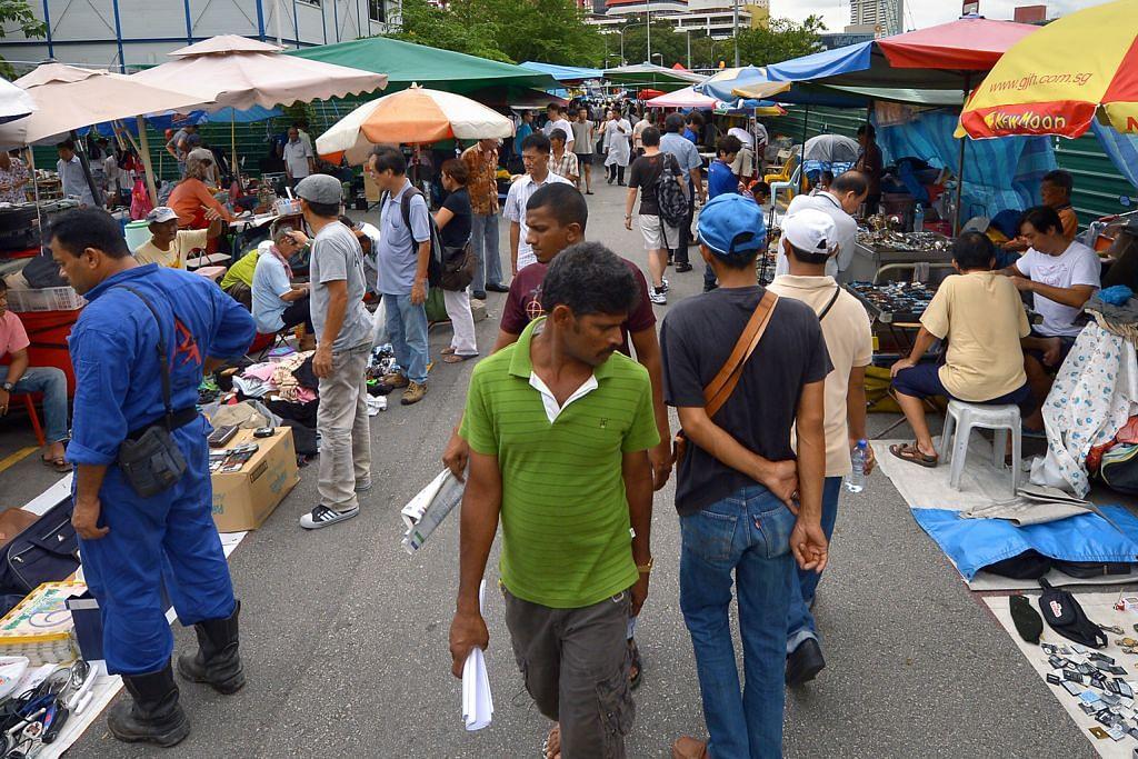 Hampir separuh penjaja asal Sungei Road minat urus gerai di pusat makanan