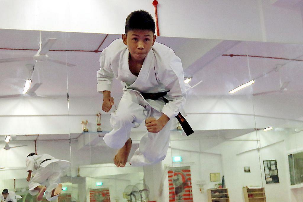 Pelajar Northlight raih emas dalam kejohanan karate