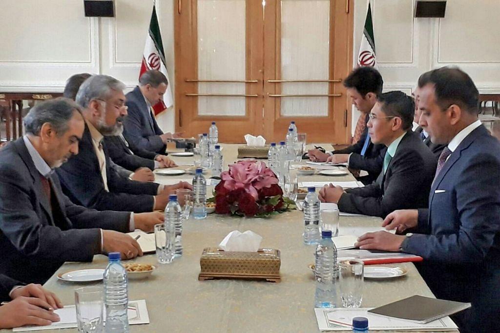Maliki lawat Iran, bincang isu dua hala