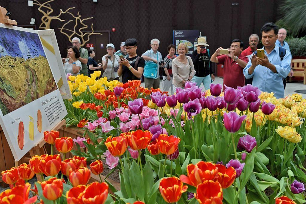 MAKLUMAT LANJUT PAMERAN MEMORIAL PEMIMPIN PENGASAS Diskaun tiket Flower Dome, Cloud Forest bagi peserta lawatan berpandu