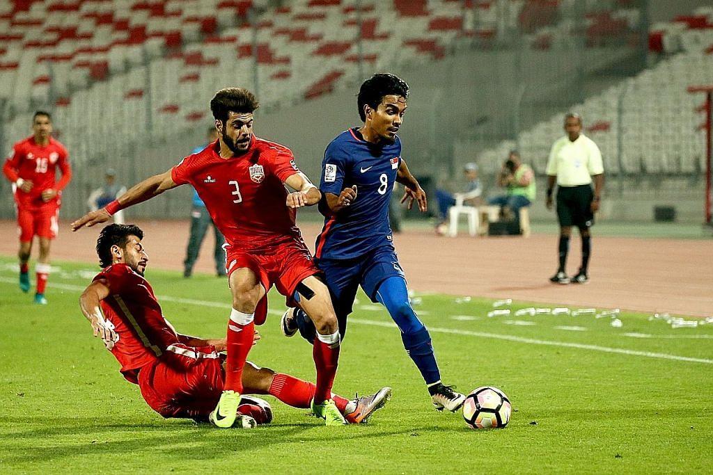 Singapura naik empat tangga dalam senarai Fifa